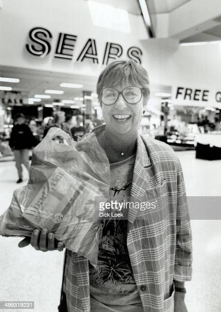 I've always thought of Sear for appliances But now I often come in to pick up things for myself Mary Brown Sears shopper