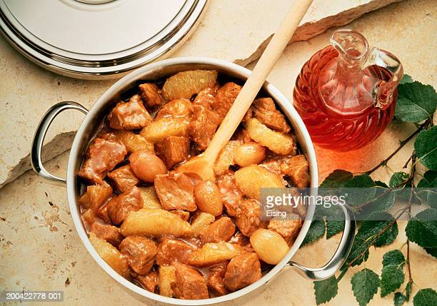 Veal Stew with Grapefruit