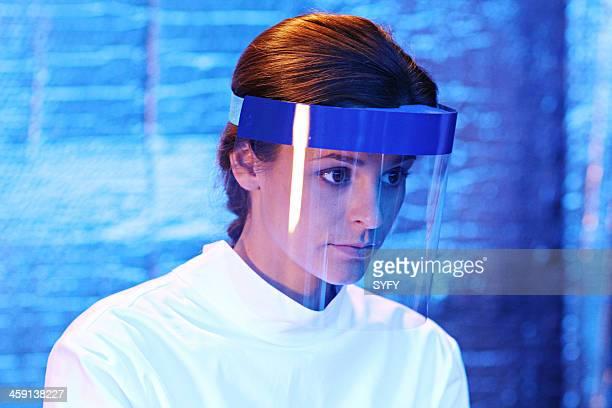 HELIX 'Vector' Episode 102 Pictured Jordan Hayes as Dr Sarah Jordan