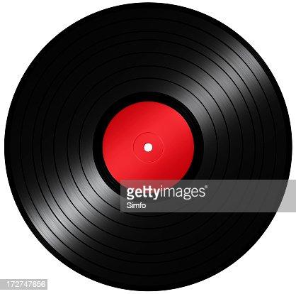 A vector illustration of a vinyl record