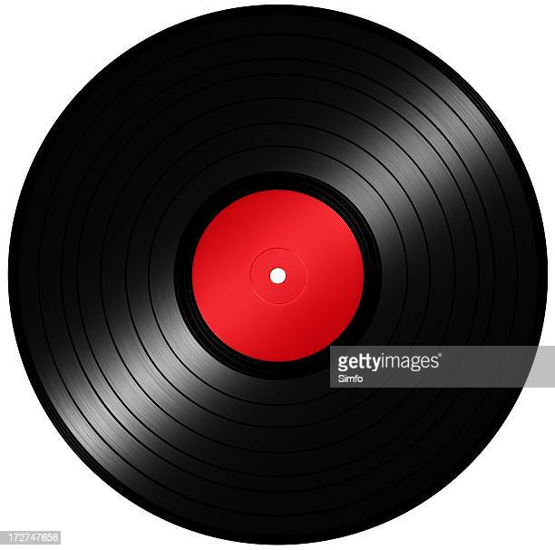 A vector illustration of a vinyl record