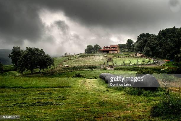 Vega de Pas landscape. Cantabria, Spain.
