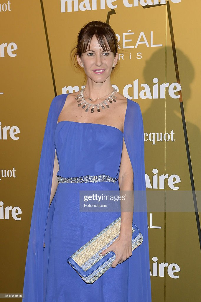 Vega Royo Vilanova attends 'Marie Claire Prix de la Moda' 2013 at the French Ambassador residence on November 21, 2013 in Madrid, Spain.