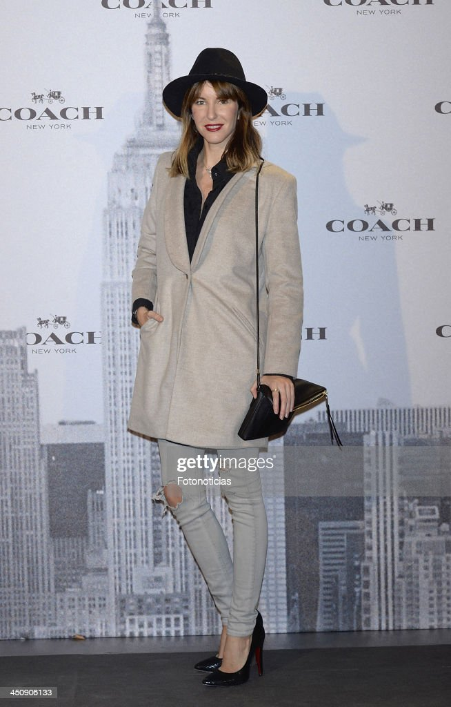 Vega Royo Vilanova attends the opening of Coach boutique on November 20, 2013 in Madrid, Spain.