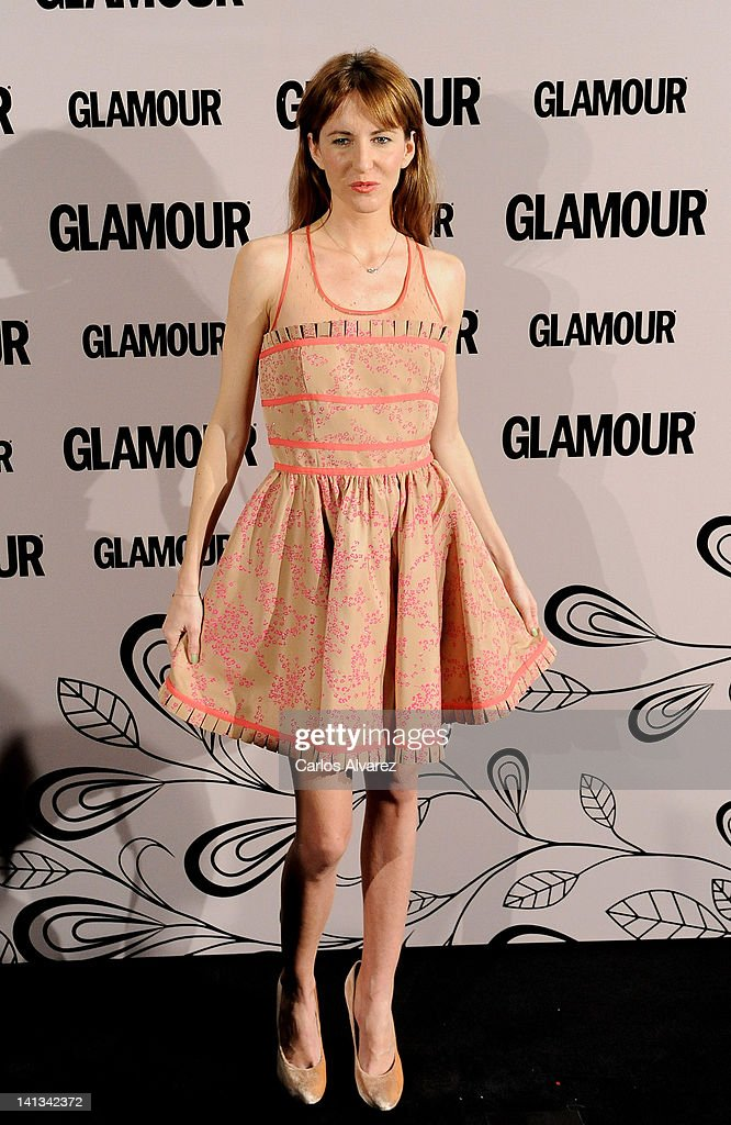 Vega Royo Villanova attends 'Glamour' beauty awards 2012 at Pacha Club on March 14, 2012 in Madrid, Spain.