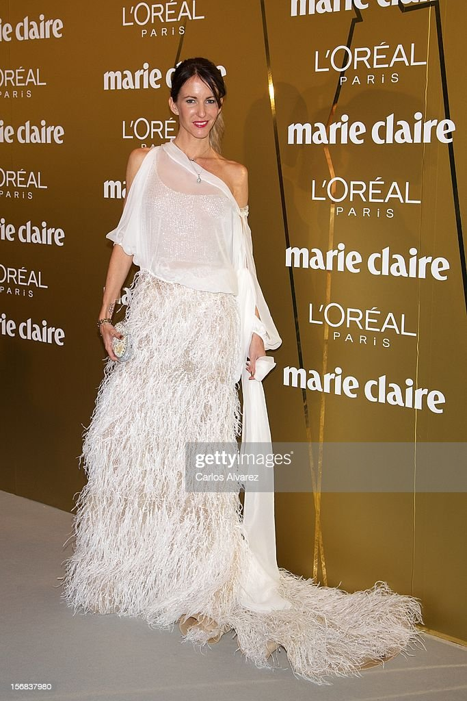 Vega Royo Villanova attends Marie Claire Prix de la Moda Awards 2012 at the French Embassy on November 22, 2012 in Madrid, Spain.