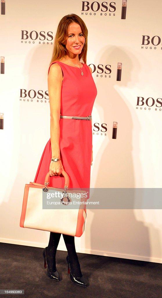Vega Royo-Villanova attends the launch of 'Boss Nuit Pour Femme' fragrance on October 29, 2012 in Madrid, Spain.