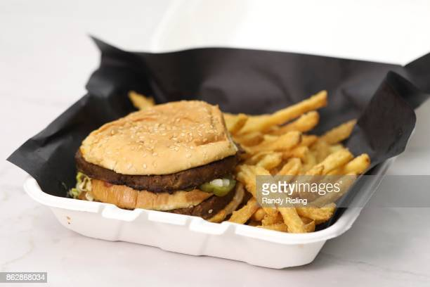A vegan Big Mac is a popular meal at Doomies a westend restaurant that prides itself on serving vegan comfort food The meatless burger is meant to...