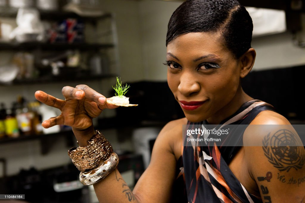 Vegan Celebrity Activist Suzanne Africa Engo Attends As VIP Guest At Elizabeth's Gone Raw Private Raw Food Dinner For Author Daphne Miller
