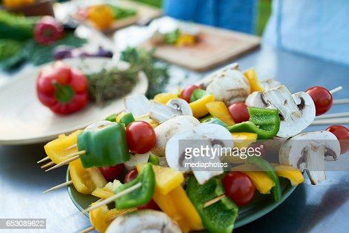 Veganistisch eten : Stockfoto