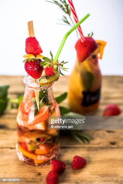 vegan Fruit cocktail