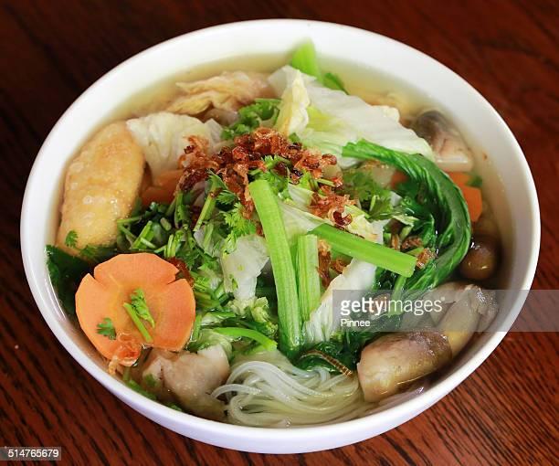 Vegan noodle soup - Mekong Delta's style, Vietnam