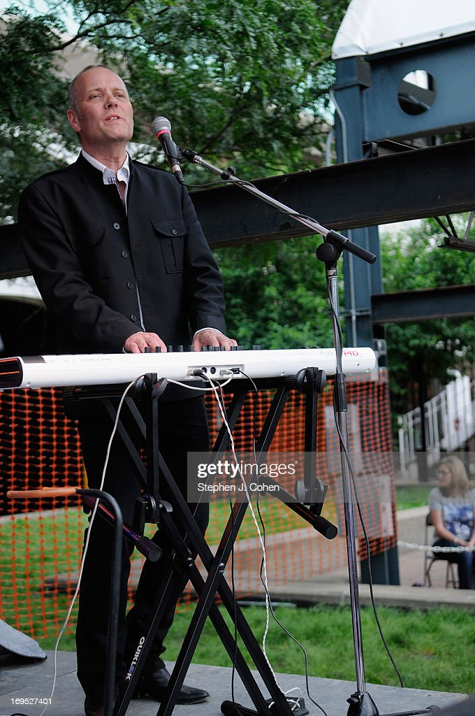 Vegar Fagerhaug Johansen of The Norwegian Beatles perform during the Abbey Road on the River Music Festival at The Belvedere on May 25, 2013 in Louisville, Kentucky.