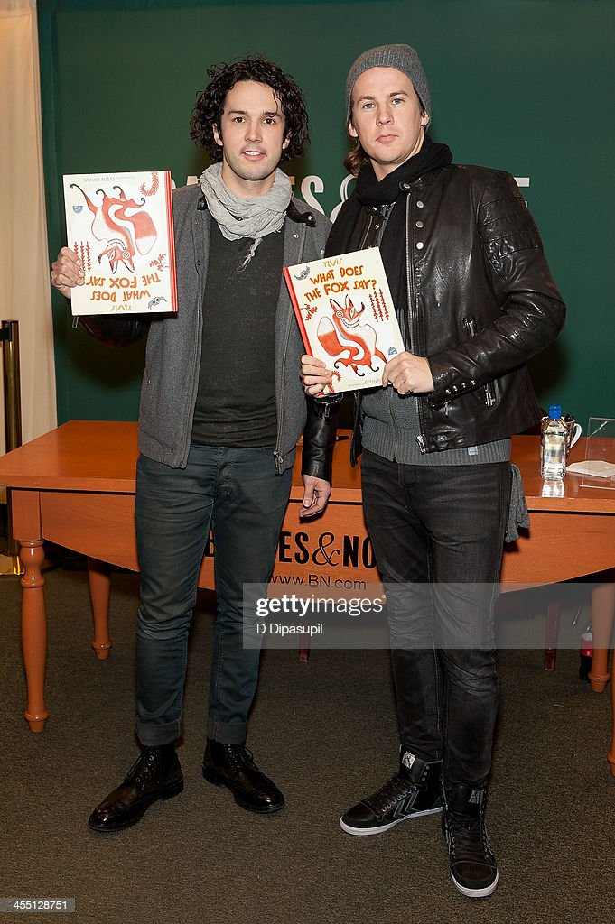 """Ylvis """"What Does The Fox Say?"""" Book Event"""