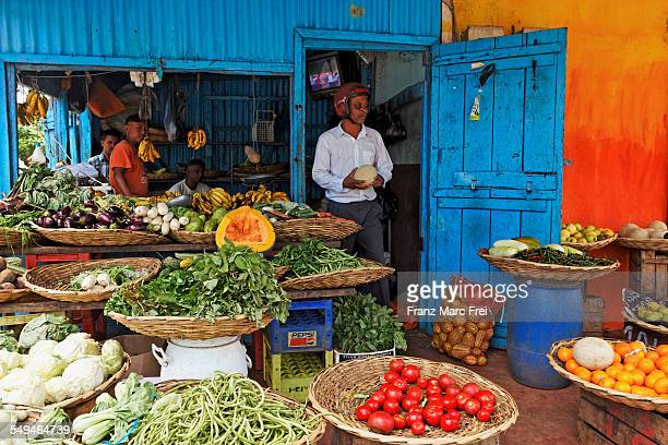 Vegetable and fruit shop