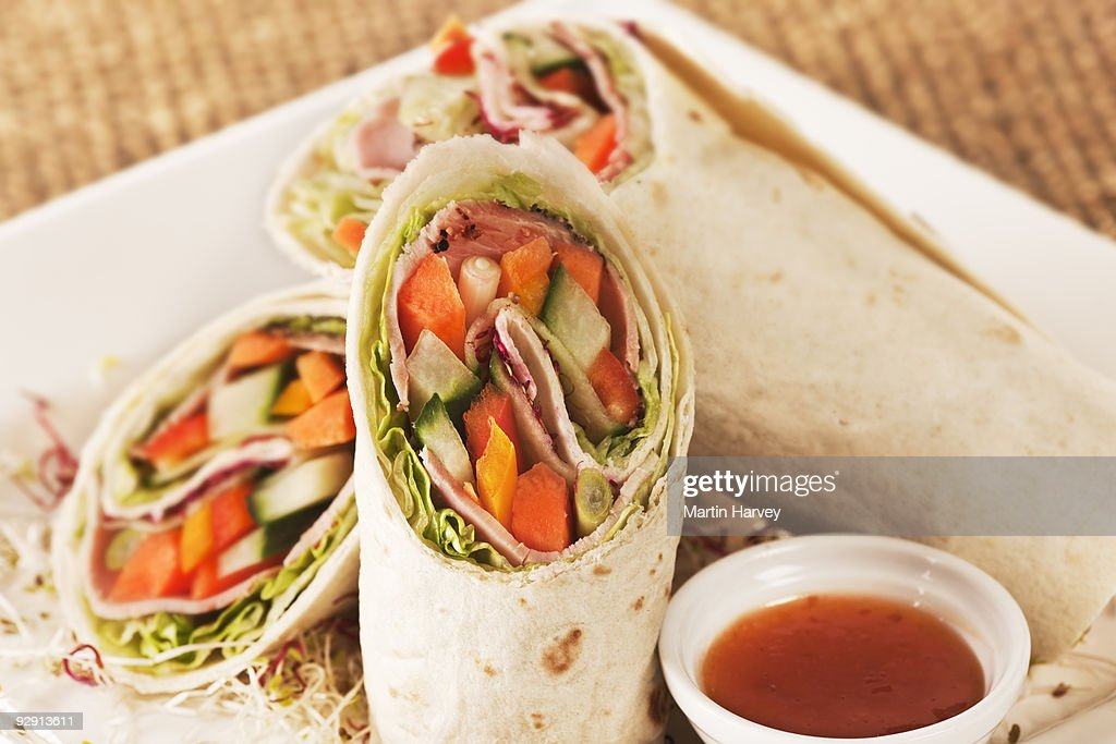 Spicy Beef Wrap Recipe, What's Cooking America