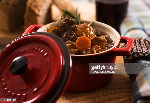 Vegetable and moose stew