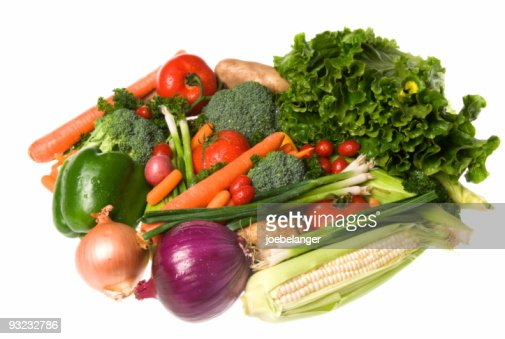 Vegetable assortment : Stock Photo