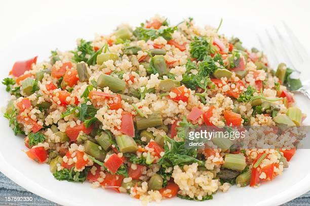 couscous aux légumes plat