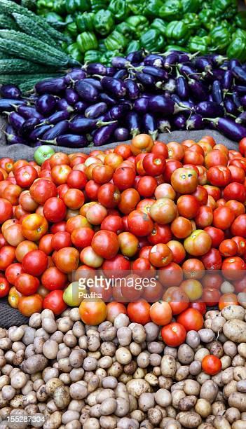 Vegetable in Indian Market