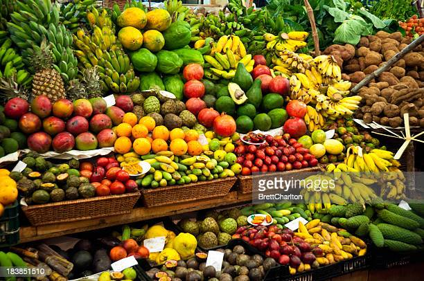Gemüsemarkt Market