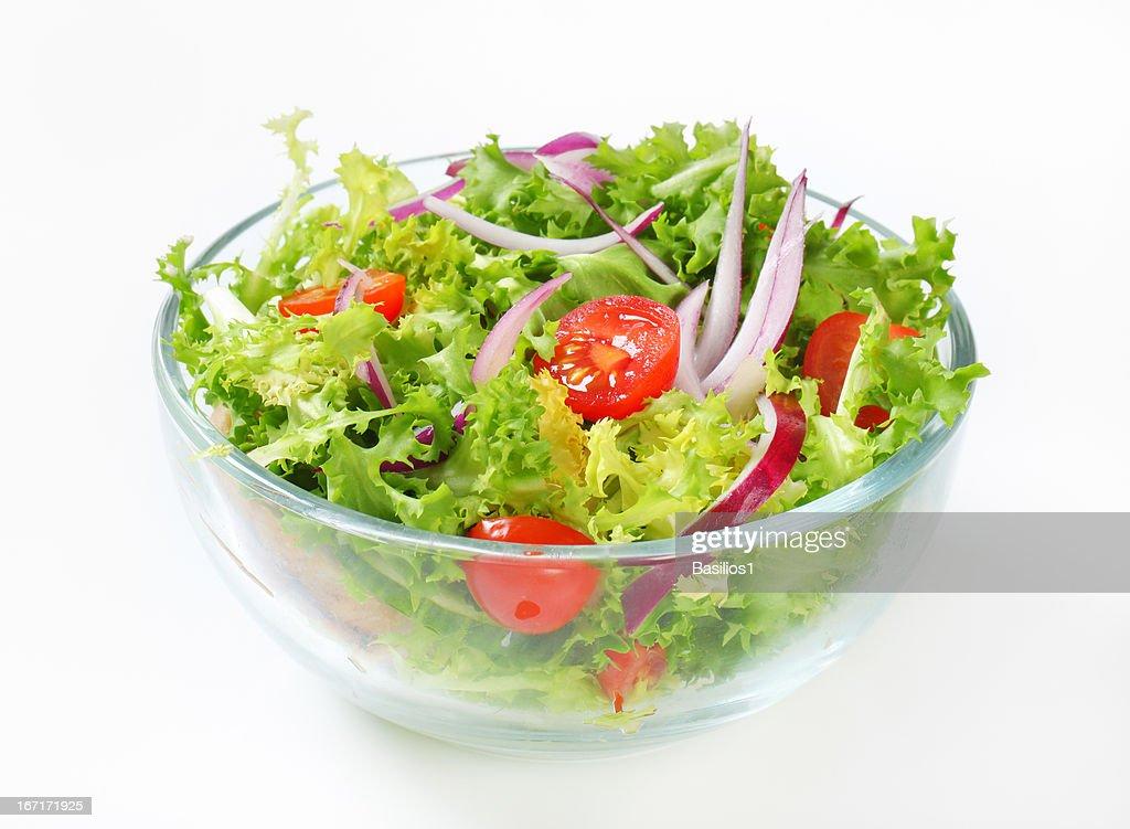 vegetable salad : Stock Photo