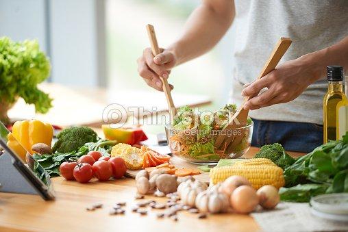 野菜のサラダ  : ストックフォト