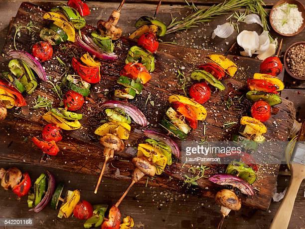 BBQ Vegetable Skewers