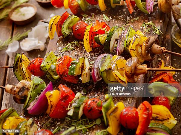 BBQ Vegetable Skewers