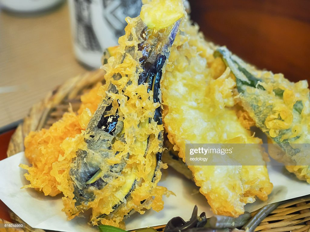 Vegetable Tempura, Japanese food : Stock Photo
