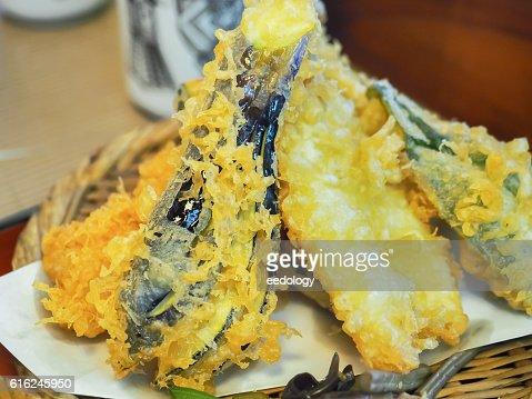 Vegetable Tempura, Japanese food : Foto de stock