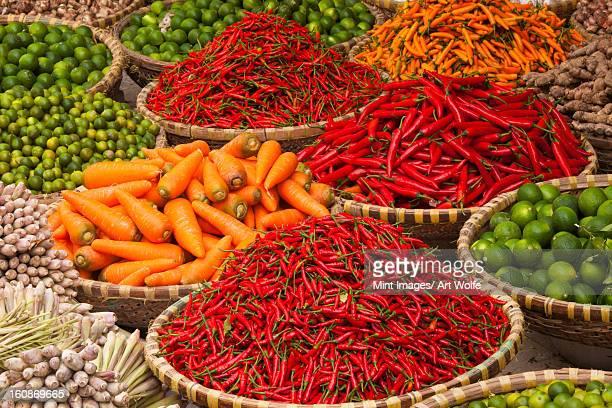 Vegetables at market, Hanoi, Vietnam