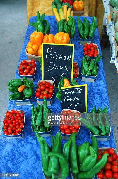 Vegetables in a Provence Farmers' Market