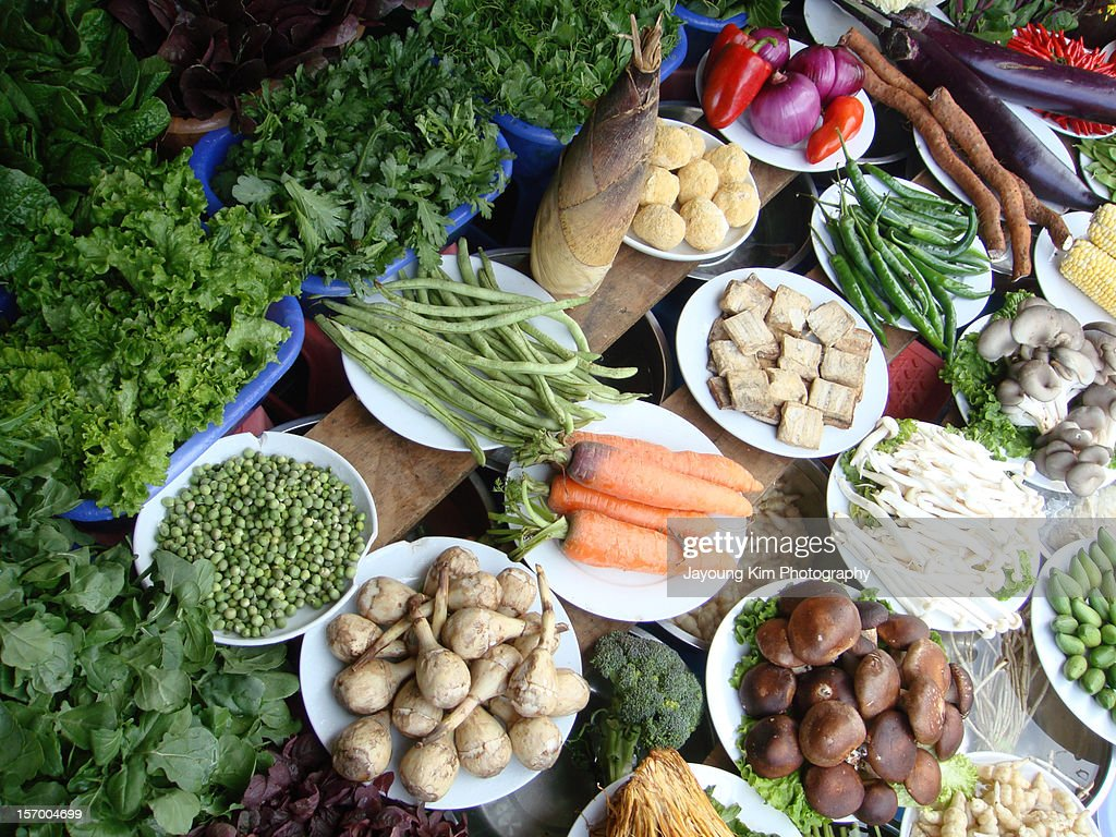 Vegetables in China : Foto stock