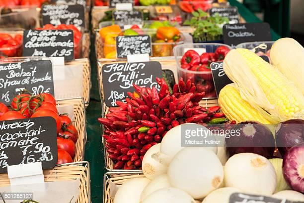 Vegetables on Viktualienmarkt - Munich
