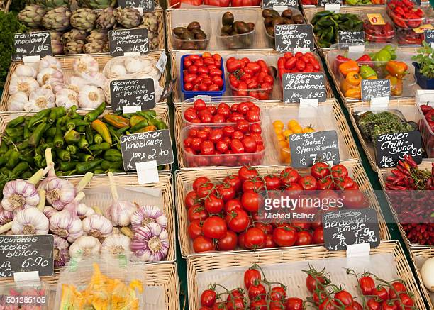 Vegetables on Viktualienmarkt