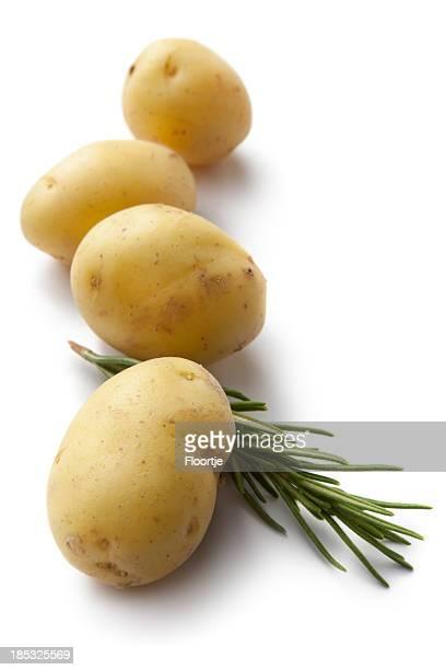 Légumes: Pommes de terre et au romarin