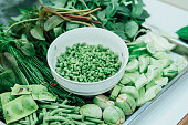 Vegetables that Thai people eat