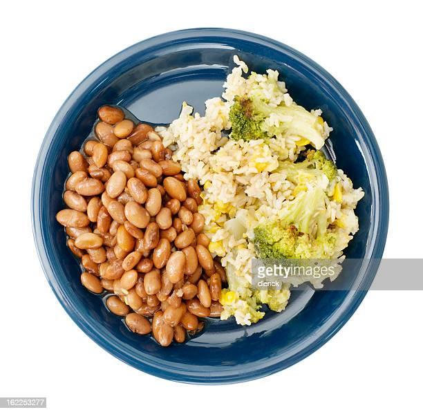 Vegetarian Bean and Rice Dinner