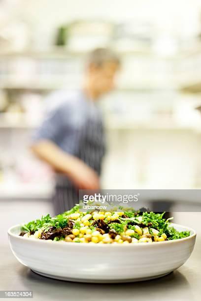 Salade de haricots végétariens