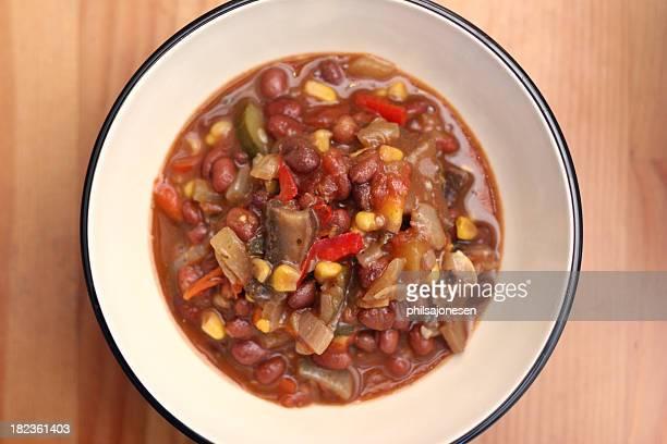 Vegetarian Chili Bowl