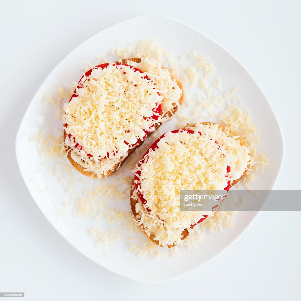 Vegetarian sandwich : Stock Photo