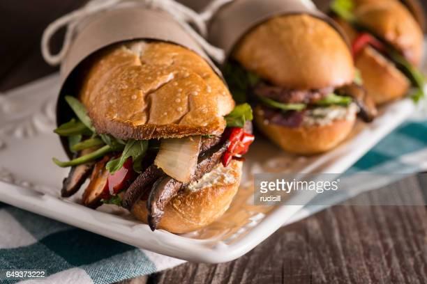 Vegetarian Sub Sandwich