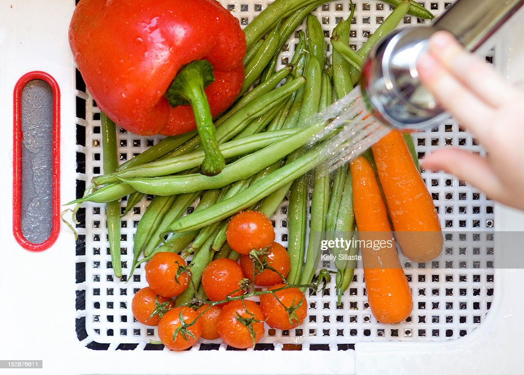Veggie wash : Stock Photo