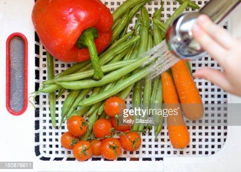 Veggie wash : Stock Photo
