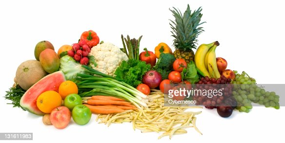 Veggies and Fruits : Stock Photo