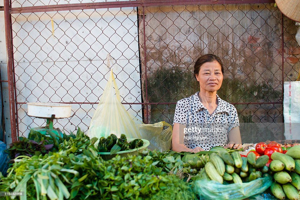 Veggies seller