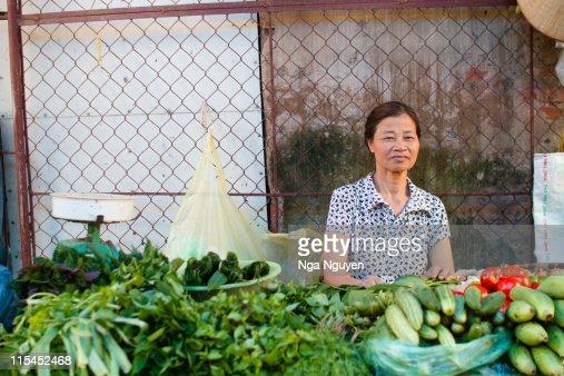 Veggies seller