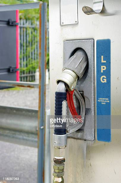 LPG Vehicle Fuel Delivery Nozzle