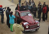 Vehicle owners take part in Vintage Car Rally organised by Allahabad Rotary Club in Allahabad on Sunday Vintage car owners showcase their cars in the...